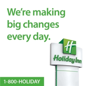 New holiday inn advertising campaign