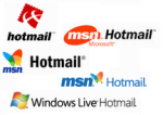 hotmail logos